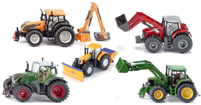 Siku-Traktor