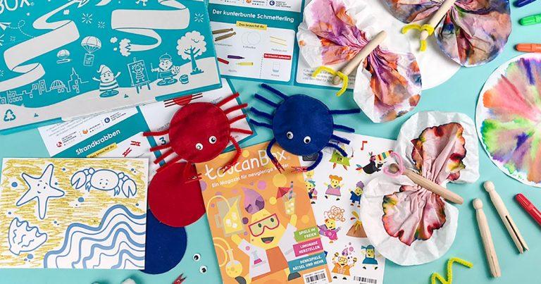 Toucan Box - Bastelbox für Kinder
