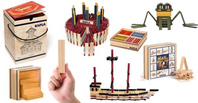 Kapla-Spielzeug