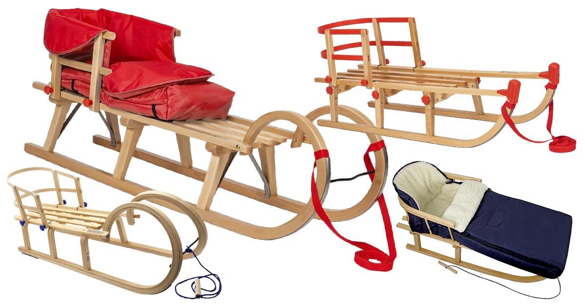 Buggy aus Wolle im Eulendesign BambiniWelt Kombi-Angebot Holz-Schlitten mit R/ückenlehne /& Zugseil 90cm universaler Winterfu/ßsack auch geeignet f/ür Babyschale Kinderwagen