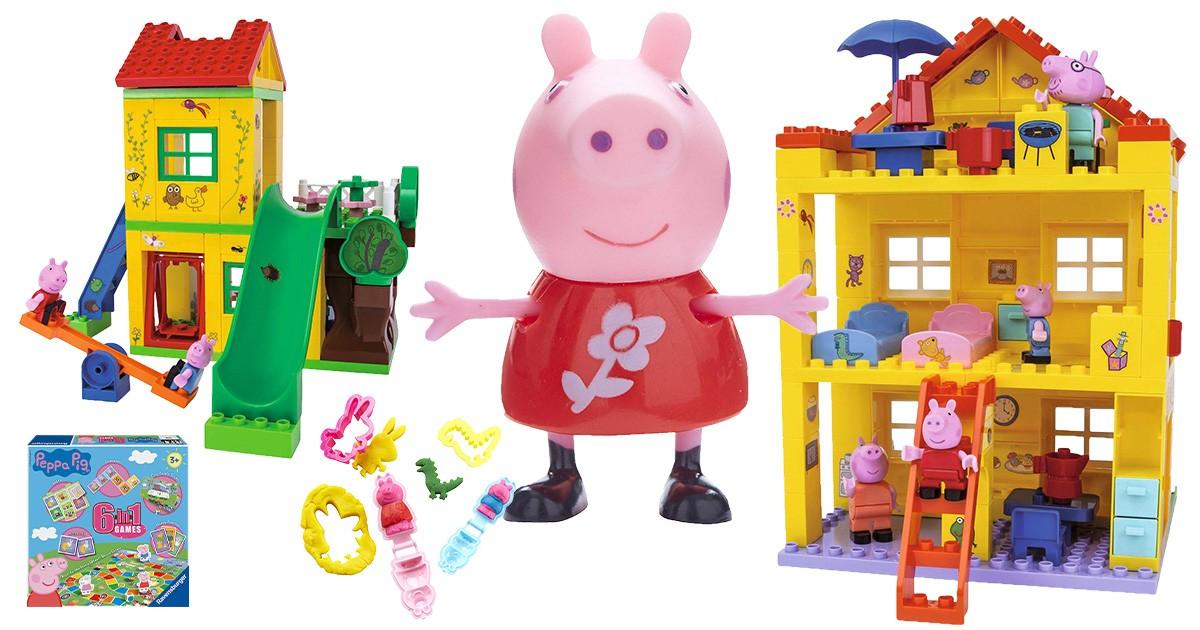 Spielsachen von Peppa Wutz