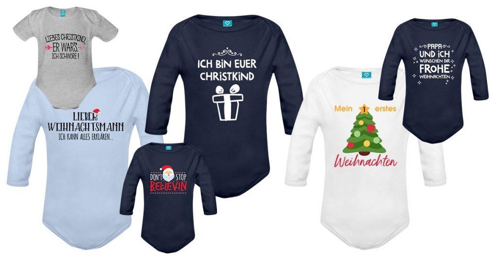 Weihnachts-Strampler Babys