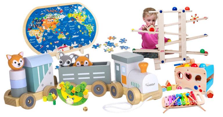 Holzspielzeug für das Kind