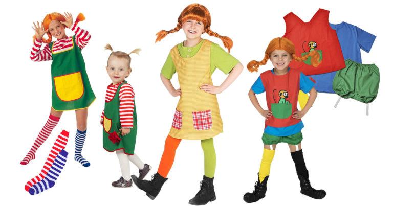 Pippi-Langstrumpf-Kostüm