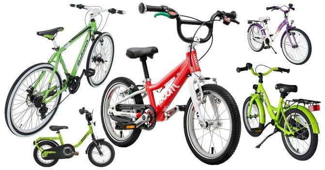 Kinderfahrräder