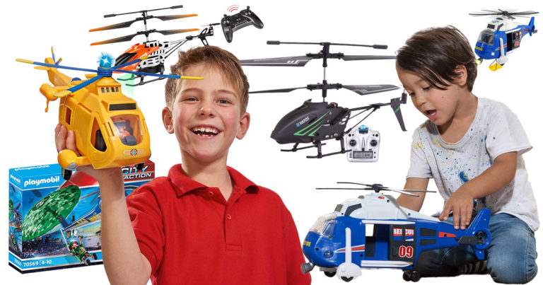 Hubschrauber-Spielzeug
