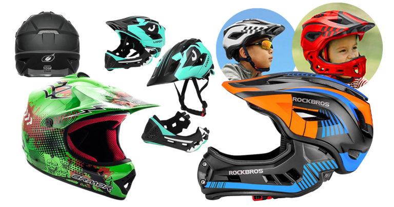 Fullface-Helm-Kinder