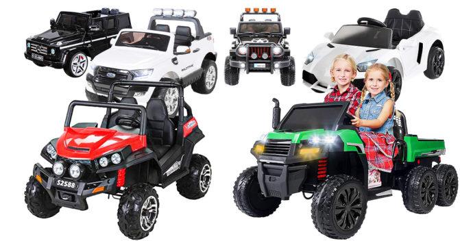 Elektro-Kinderauto-2-Sitzer