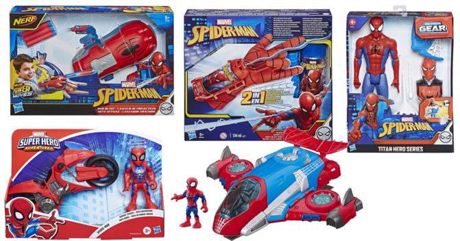 Spiderman-Spielzeug