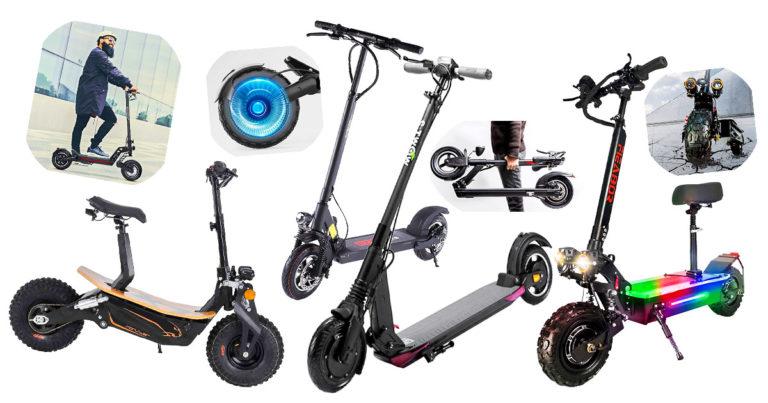 E-Scooter ohne Zulassung