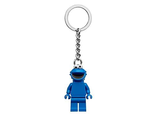 LEGO Sesamstraße Krümelmonster Minifigur Schlüsselanhänger 854146