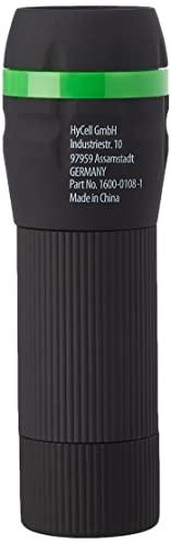 HyCell Mini LED Taschenlampe zoombar & fokussierbar inkl. AAA Batterien - Handliche LED Leuchte mit...