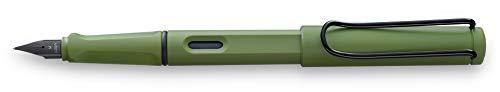 LAMY safari Füllhalter 041 – Moderner Füller in der Farbe Savannah mit ergonomischem Griff und...