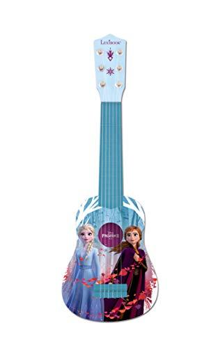 Lexibook K200FZ Disney Frozen 2 Die Eiskönigin ELSA Anna Meine erste Gitarre für Kinder, 6 Nylonsaiten,...