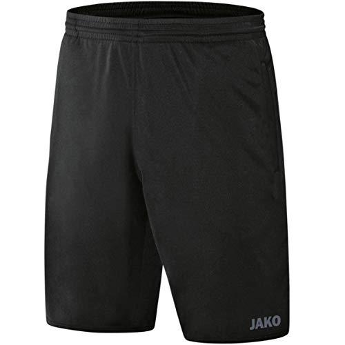 JAKO Herren Fußballsporthosen Schiedsrichter Sporthose, schwarz, 3XL, 4471