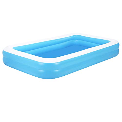 Aufblasbarer Pool Family Pool Deluxe, Kinderpool Planschbecken Schwimmbad Family Ocean Ball...