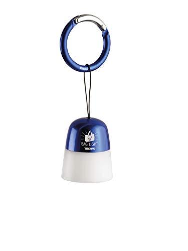 TROIKA Taschenlicht BAG LIGHT – TOR21/DB – rund, Kunststoff/Metal – Taschenlicht,...