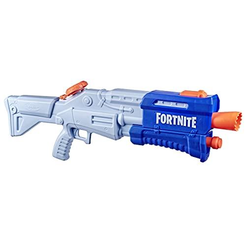 SUPERSOAKER Fortnite TS-R Nerf Super Soaker Wasserblaster Spielzeug – Pump-Action – Kapazität von 1...