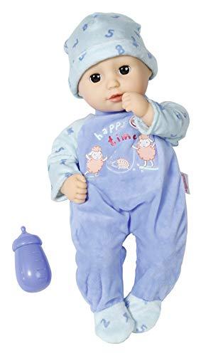 Zapf Creation 704592 Baby Annabell Little Alexander Puppe mit weichem Stoffkörper und Schlafaugen 36 cm,...