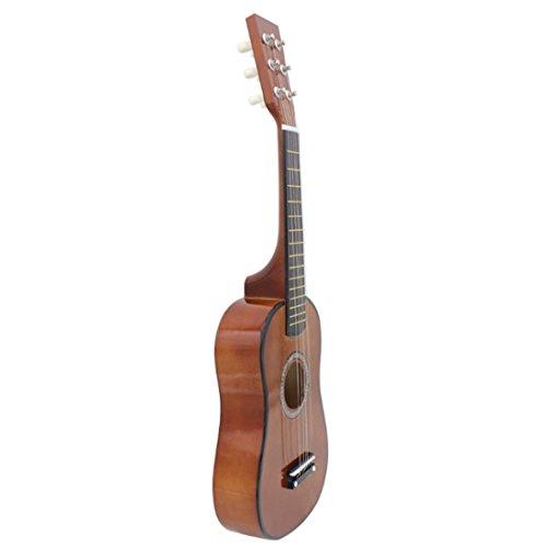 15000P Kindergitarre Rockgitarre Musikinstrument Saiteninstrumente Spielzeug Gitarre für Kinder ab 5...