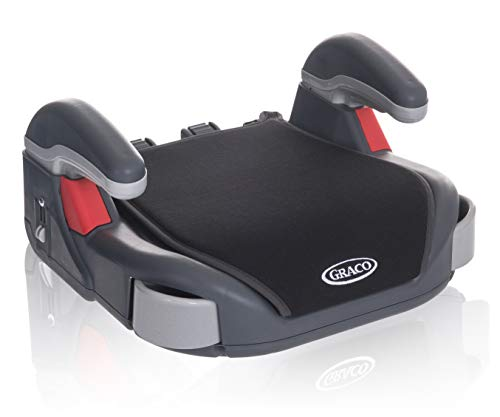 Graco Booster Basic, Kindersitz Gruppe 3, Auto-Kindersitzerhöhung ohne Rückenlehne, 22-36 kg, (ca. 6...
