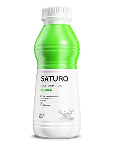 Astronautennahrung SATURO, Original, 500 kcal, Trinkmahlzeit mit Hochwertigem Protein, Mahlzeitersatz...