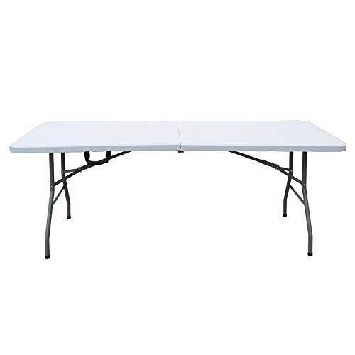 soges Gartentisch Campingtisch extra großer Außentisch Klapptisch Esstisch BBQ Tisch faltbares Design...