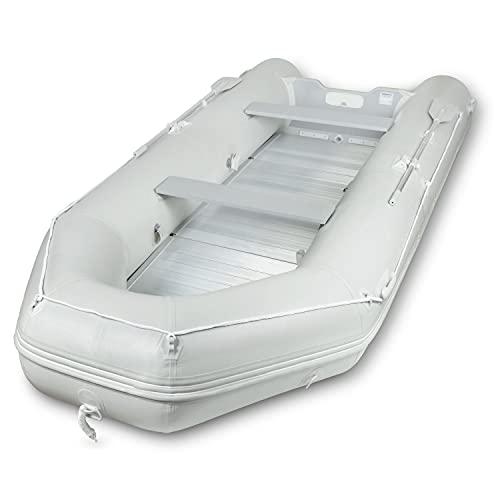 EBERTH Schlauchboot für 8 Personen (Länge 4,60m, Breite 1,90m, Beladung bis 1100kg, 2X Sitzbank,...
