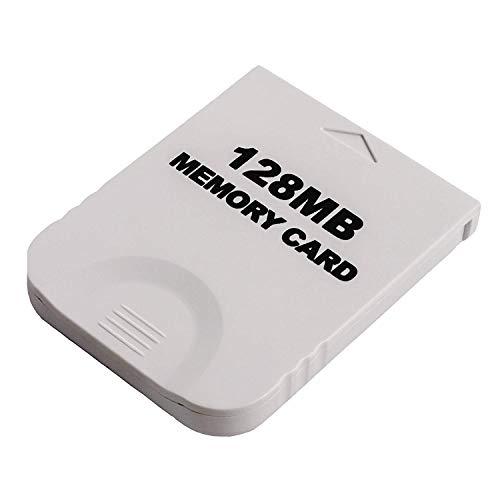 RUITROLIKER 128MB Speicherkarte Spiel Memory Card für GameCube Wii NGC Konsole