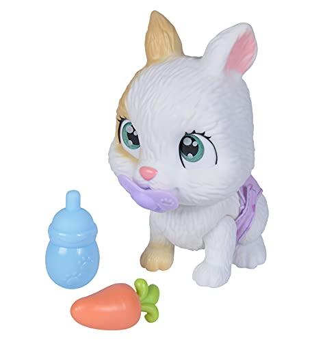 Simba 105953052 – Pamper Petz Hase, mit Trink- und Nässfunktion, Spielzeughase für Kinder ab 3...