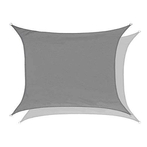 Lanbent Wasserdicht Sonnensegel Sonnenschutz, 95% UV Block Rechteck Winddicht Schattenspender, Carport...