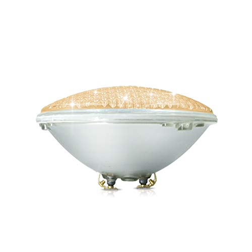 COOLWEST 36W LED Poolbeleuchtung Warmweiß Unterwasserleuchten, 12V AC/DC IP68 Wasserdicht Unterwasser...