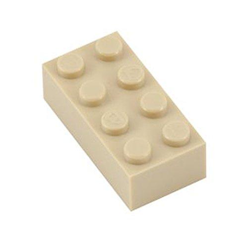 Q-Bricks Beutel 500Stck. Bausteine 2x4 Elfenbein 094