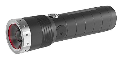 Ledlenser MT14, LED Taschenlampe, wiederaufladbar, fokussierbar, mit Akku, 1000 Lumen im Boost Mode, 320...