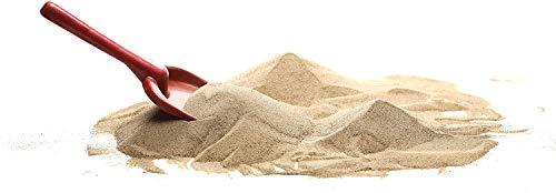 Euroquarz 25 kg Sandkastensand Spielsand Buddelkastensand 0,1 bis 0,5 mm