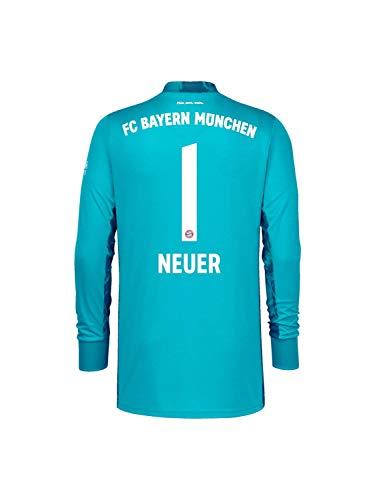 FC Bayern München Kinder Torwart-Trikot Saison 2020/21, Gr. 128, Manuel Neuer