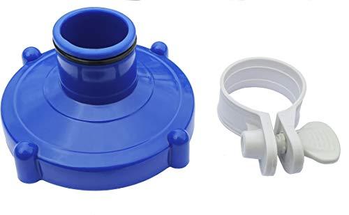 Algenschnapper Bodensauger an Filteranlage für Quick-up Pools von Intex und Bestway (80mm auf 32mm)...