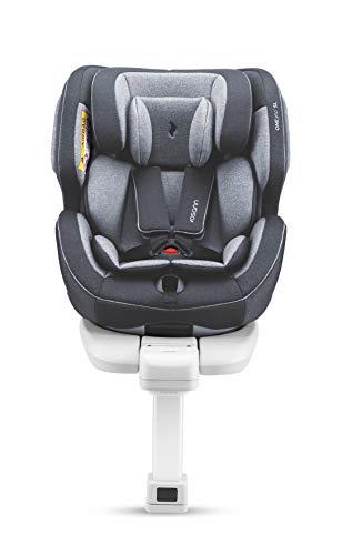 Osann One360 SL Kindersitz Gruppe 0+/1/2/3 (0 – 36 kg), Reboarder-Kindersitz mit Isofix und Standfuß