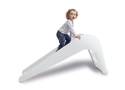 Jupiduu Kinderrutsche – Die Royale Indoor Holzrutsche fürs Wohn- & Kinderzimmer in Weiß. Das...
