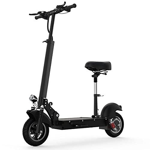 E Scooter Roller Erwachsene Mit Abnehmbarem Sitz Mit Doppelter Federung, 350/500/1000w 3 Arten Von...
