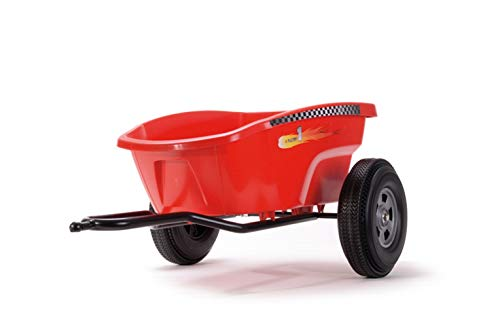 Ferbedo 30133 - Cart Trailer Go-Carts, red