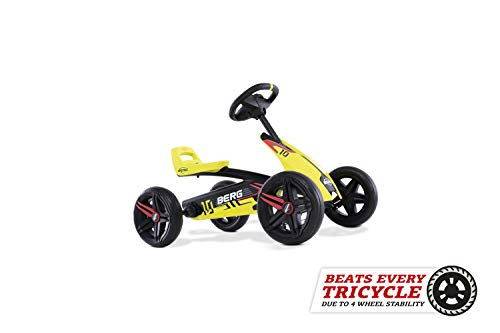 BERG Gokart Buzzy Aero   Kinderfahrzeug, Tretauto, Sicherheid und Stabilität, Kinderspielzeug geeignet...