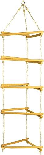 small foot 1649 Klettergerüst aus Holz, mit Metallringen zur Befestigung, belastbar bis 120 kg, ab 3...