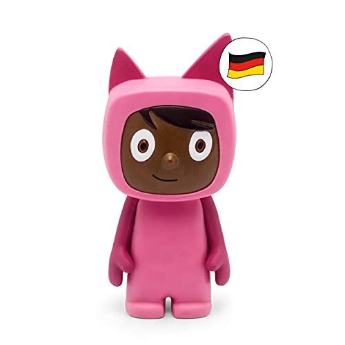tonies Hörfiguren für Toniebox, Kreativ Pink (Dunkelbraun) zum Selbstbespielen, 90 Minuten Speicher...