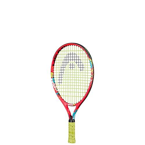 HEAD Unisex Jugend Novak 19 Tennis Racket, mehrfarbig, 2-4 Jahre
