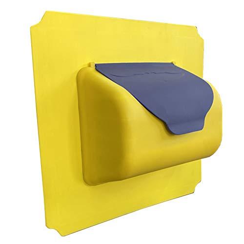 move and stic Platte 40x40 mit Briefkasten Erweiterung Zubehör Set Verschiedene Varianten …