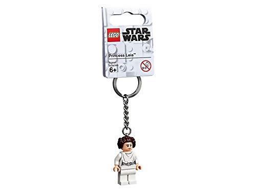 Star Wars Lego 853948 Schlüsselanhänger, Prinzessin Leia (Version 2019)