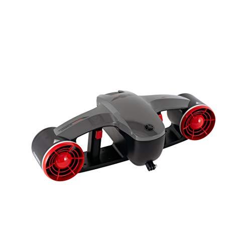 Yamaha Unterwasserscooter Tauchscooter Seascooter Tauchjet bis 8 km/h (rot)