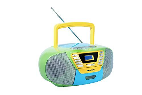 Blaupunkt B 120 MC tragbarer Kinder CD Player mit Bluetooth | Kassettenrekorder Kinder | Hörbuch...