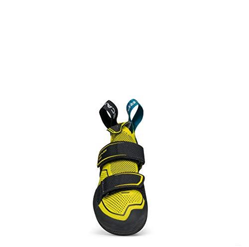 Scarpa Reflex Kid Kletterschuhe, Yellow-Black FFJ Vision, 35 EU